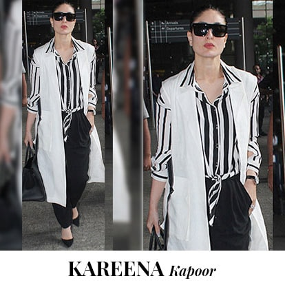 <p>If you are tall, you can carry this look like a boss . Combine this  wrap top with flared pants and a longline shrug to give a bold  statement. And you can just slay like Kareena Kapoor Khan.</p>