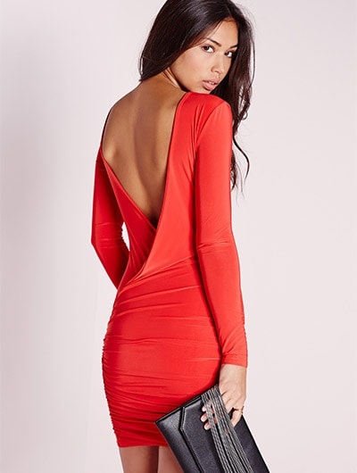 a53692053b2e88 Who doesn t love wearing backless outfits  We all have that halter top