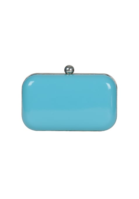 Sky Blue Candy Clutch