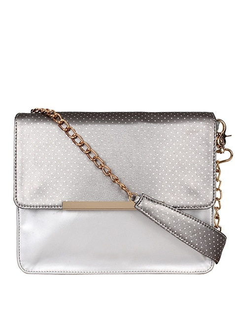 Silver Siren Mini Shoulder Bag