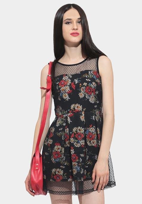 Hidden Secrets Floral Dress