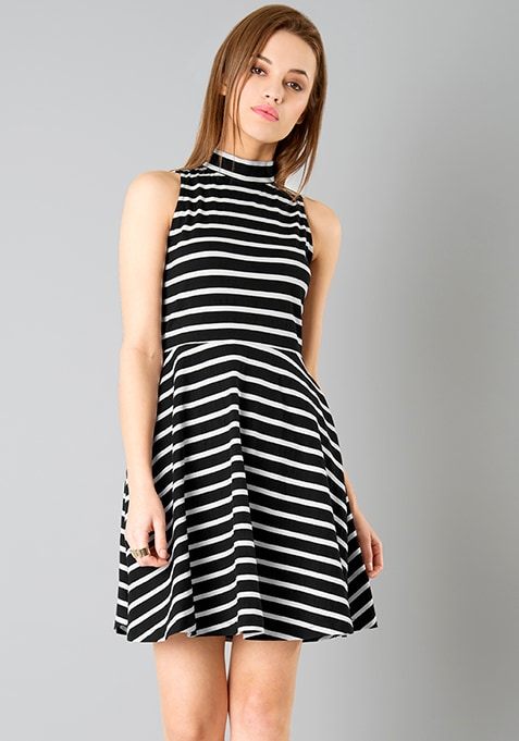 dress closed neck