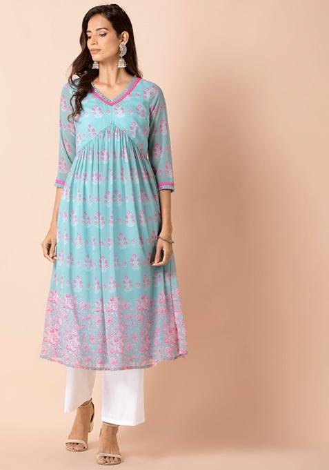 Khaadi Pants Trouser Straight Cream Beige 12 Size printed