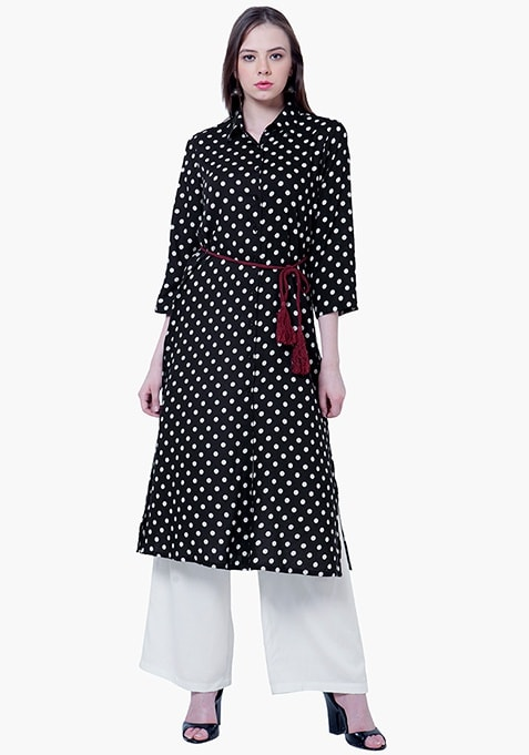 Polka Passion Shirt Tunic