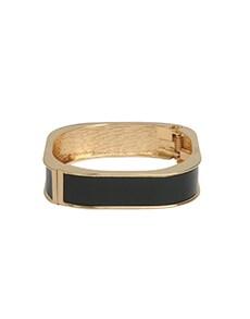 Black Gold Square Bracelet