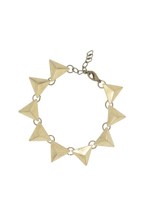 Gold Triangles Bracelet