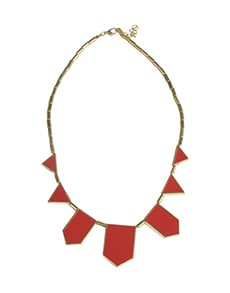 Articulated Red Necklace