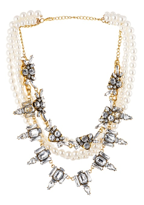 Pearl Finesse Statement Necklace