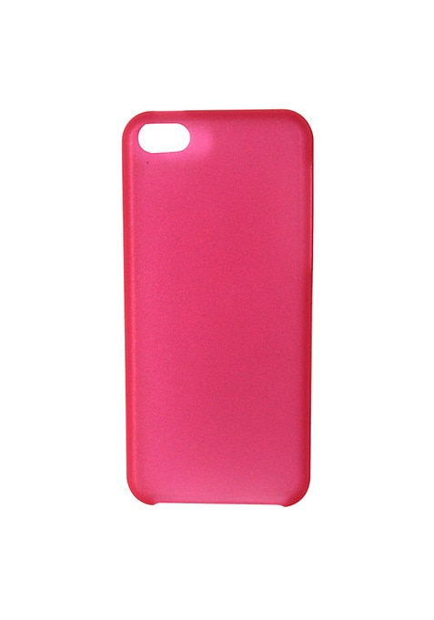 Pink Jelly iPhone 5/5S/5C Cover