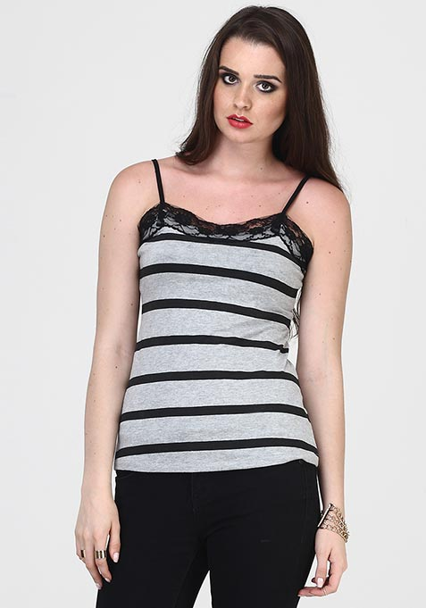 Weekend Dose Cami - Stripes