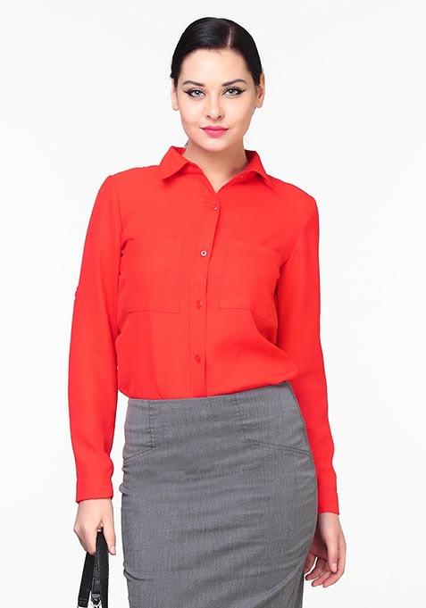 Blazing Red Shirt