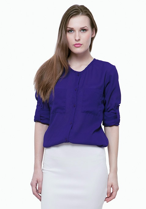 Chic Extreme Shirt - Blue
