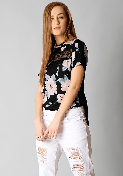 Floral First Blouse