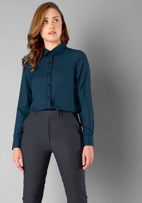 CLASSICS Piping Shirt - Teal