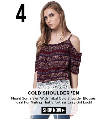Cold Shoulder 'Em