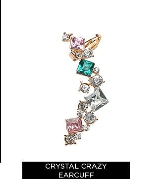 Crystal Crazy Earcuff